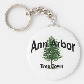 Ann Arbor Porte-clé Rond