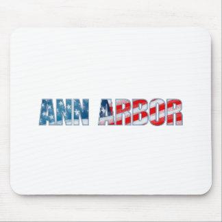 Ann Arbor Tapis De Souris