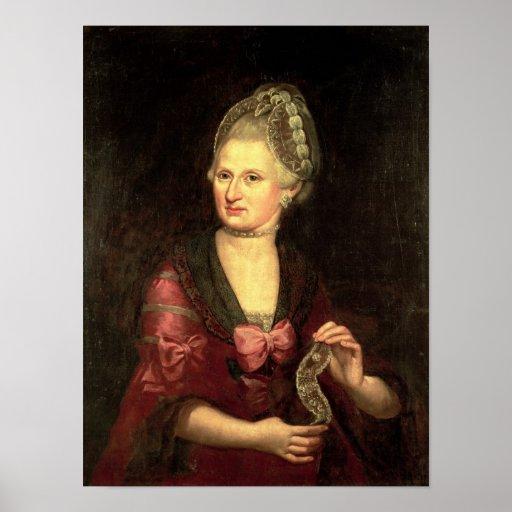 Anna Maria Mozart, Pertl nee Posters
