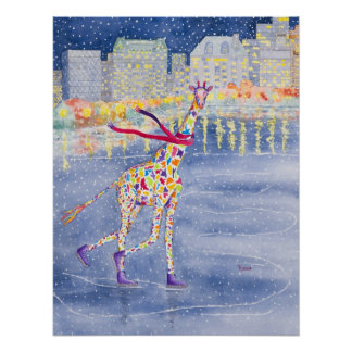 Annabelle sur l'affiche de glace