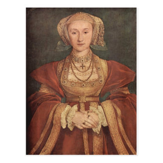 Anne de carte postale de Cleves