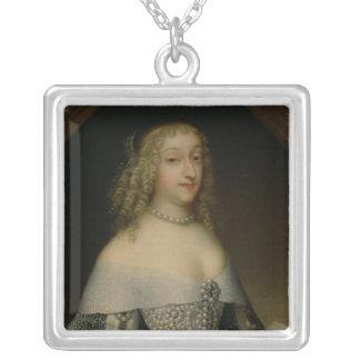 Anne de Gonzaga princesse Palatine Pendentif Carré