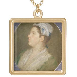 Anne Hogarth (1701-71), c.1740 (huile sur toile) ( Collier Plaqué Or