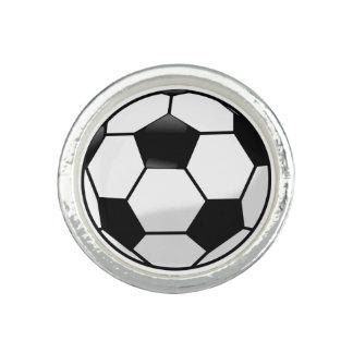Anneau de Soccerball Bague Avec Photo