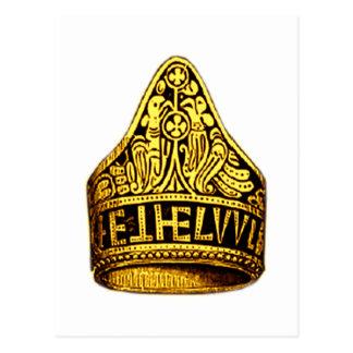 Anneau d'or d'Aethelwulf Carte Postale