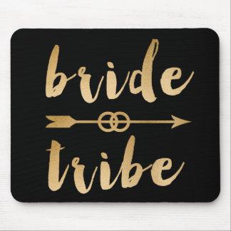 anneaux de mariage élégants de flèche de tribu de tapis de souris