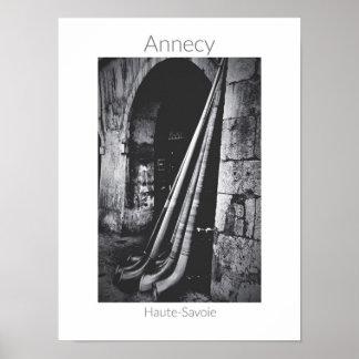 Annecy - affiche de DES Alpages de fête Poster