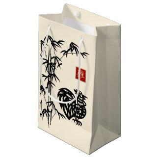 Année chinoise des sacs de cadeau de coq