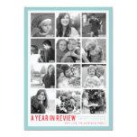 Année dans des vacances Photocard de collage de Cartons D'invitation Personnalisés