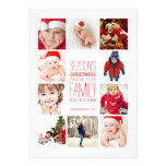 Année de collage de Bonnes Fêtes de photos en Carton D'invitation