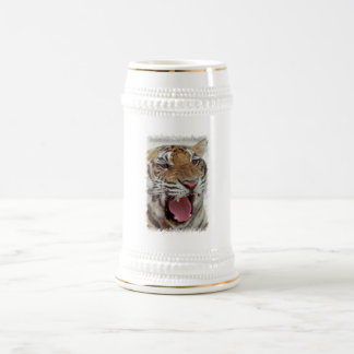 Année de la bière Stein de tigre Tasses À Café