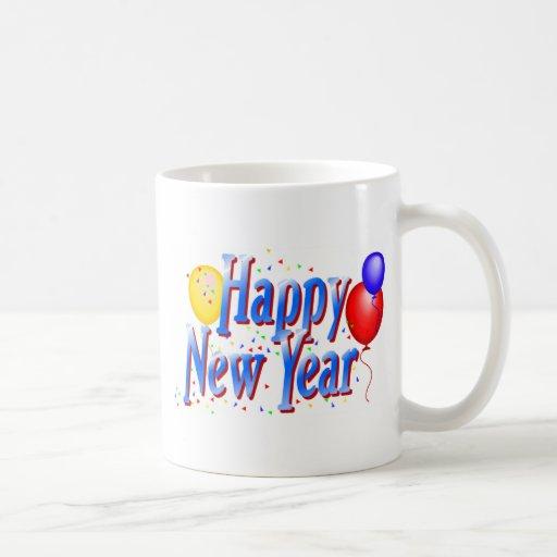 Année de T-shirts de bonne année nouvelle Tasses À Café