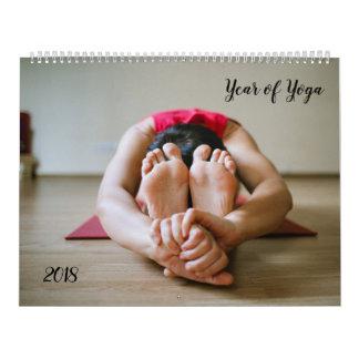 Année de yoga, calendrier personnalisable