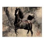 Année du cheval 2014 - art de peinture chinoise cartes postales