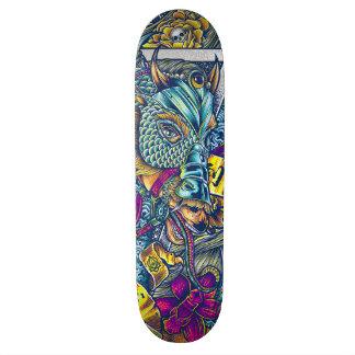 Année du cheval skateboard  20 cm