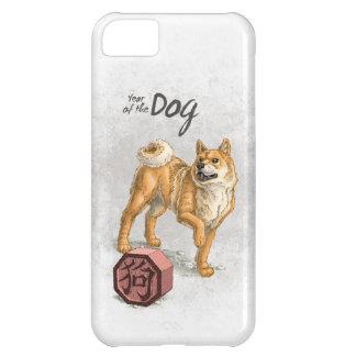 Année du chien coque iPhone 5C