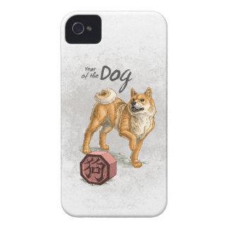 Année du chien étui iPhone 4