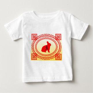 Année du lapin t-shirt pour bébé