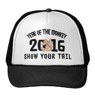 Année du singe 2016 - montrez votre queue casquettes