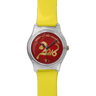 Année du singe - nouvelle année lunaire chinoise montres cadran