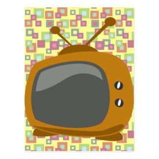 Années '50 TV Carte Postale