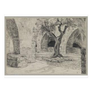 Annexe du couvent arménien, Jérusalem Carte Postale