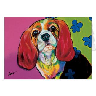 Annie la carte de note de chien de thérapie par