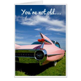 Anniversaire - ailerons carte de vœux