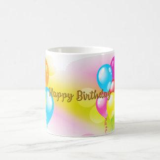 Anniversaire coloré mug