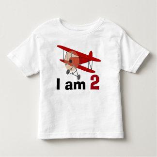 Anniversaire de biplan t-shirt pour les tous petits