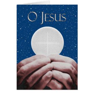 Anniversaire de carte de voeux sacerdotale de