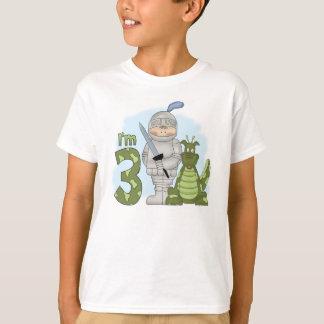 Anniversaire de chevalier de dragon 3ème t-shirt