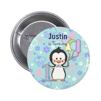 Anniversaire de garçon de Cutie- de pingouin premi Pin's