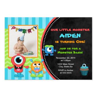 Anniversaire de garçon d'invitation d'anniversaire carton d'invitation  12,7 cm x 17,78 cm