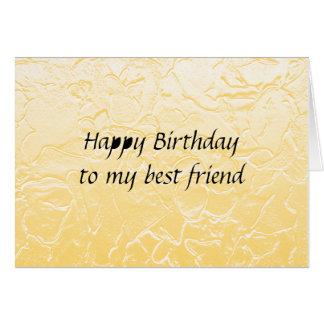 anniversaire de meilleur ami carte de vœux