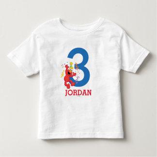 Anniversaire de neutre d'Elmo T-shirt Pour Les Tous Petits