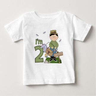 Anniversaire de pêcheur de Lil 2ème T-shirt Pour Bébé