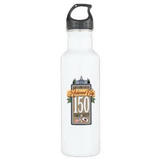 Anniversaire de Redwood City 150th Bouteille D'eau
