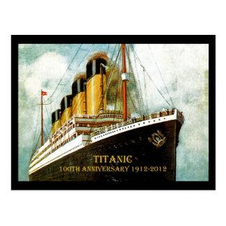 Anniversaire de RMS Titanic 100th Carte Postale