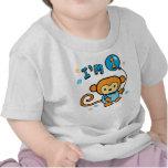 Anniversaire de singe de Lil ęr T-shirt
