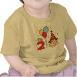 Anniversaire de visage de singe 2ème t-shirts
