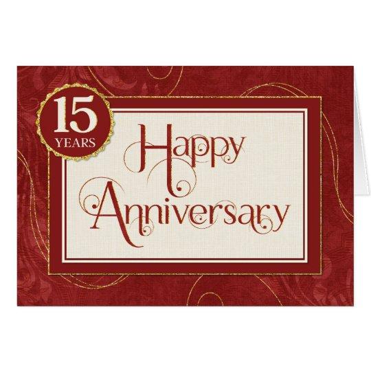 anniversaire des employs 15 ans le texte carte de vux - Texte Felicitations Mariage