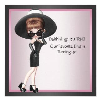 Anniversaire du noir rose de la femme préférée de bristol personnalisé