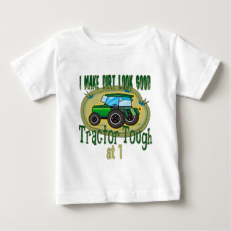 Anniversaire dur de tracteur ęr t-shirt pour bébé