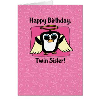 Anniversaire pour la soeur jumelle - peu de cartes