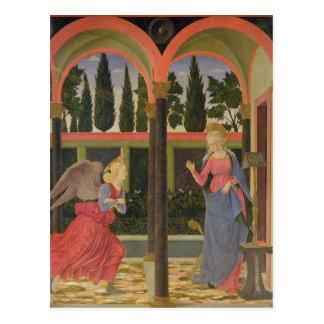 Annonce, c.1457 (tempera sur le panneau) carte postale