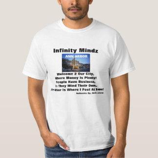 """annonce de """"Ann Arbor"""" d'iMz T-shirts"""