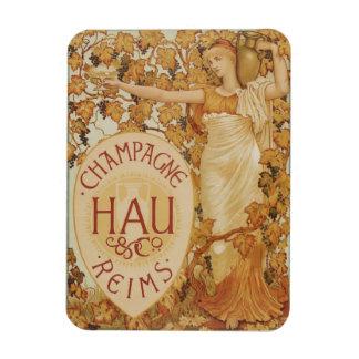 Annonce de Champagne de Français Magnets Souples
