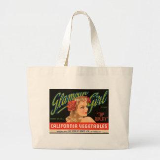 Annonce de cru de légumes de la Californie de fill Grand Sac