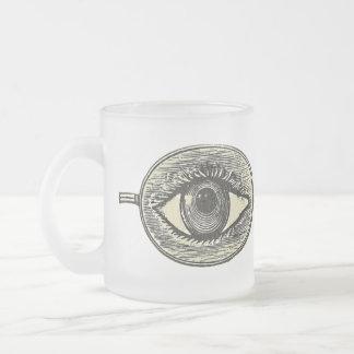Annonce vintage de lunettes mugs